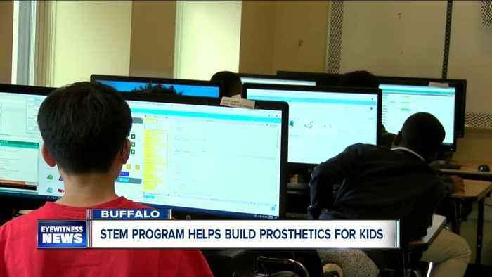 STEM program helps build prosthetics for kids
