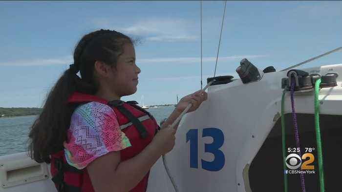 Children In Physical Therapy Get A Special Day Of Sailing