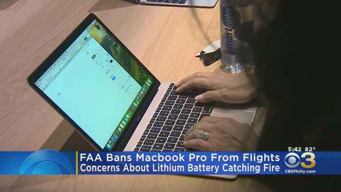 FAA Bans Apple Macbook Laptops