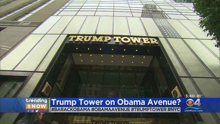 TRENDING: New York City's Trump Tower Could Soon Be On Barack H. Obama Avenue