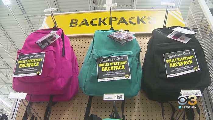 Manufacturers Selling Bulletproof Backpacks In Wake Of Mass Shootings