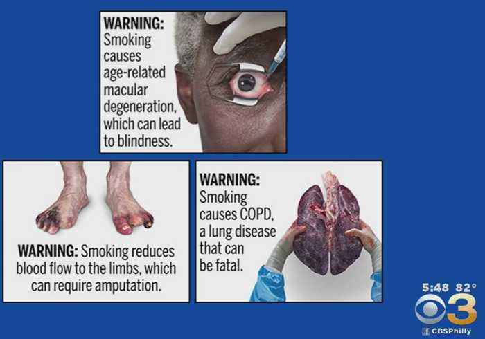 FDA Unveils Graphic Health Warnings For Cigarette Packages