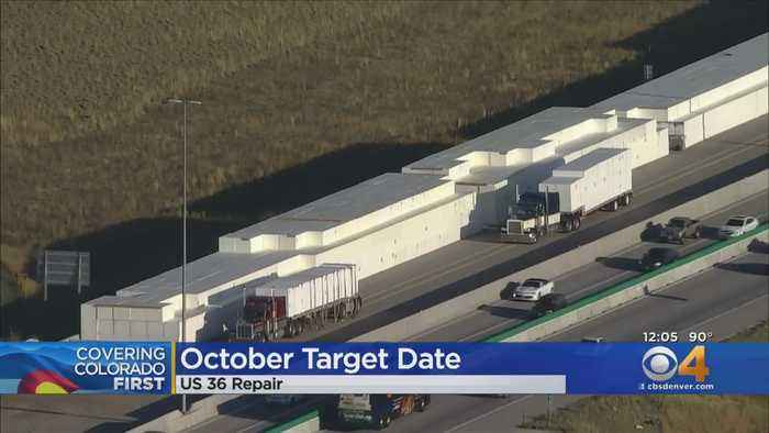 October Is The Target Date To Reopen U.S. 36