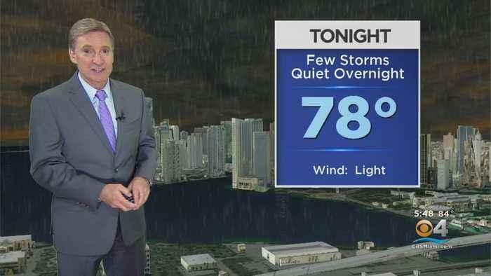 CBSMiami.com Weather @ Your Desk 8-15-19 6PM