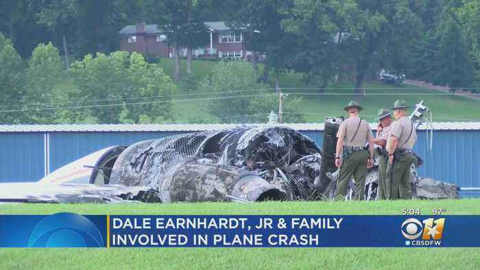Dale Earnhardt, Jr. And Family Survive Small Plane Crash