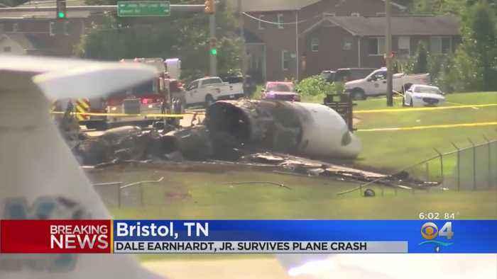 Dale Earnhardt Jr. Hospitalized After Small Plane Crash