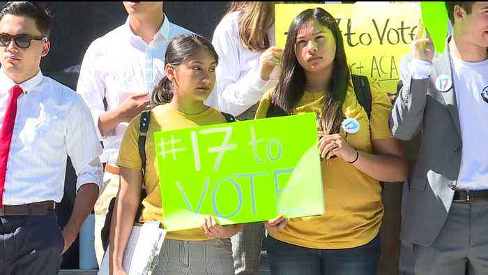 Proposal Would Lower California Voting Age to 17