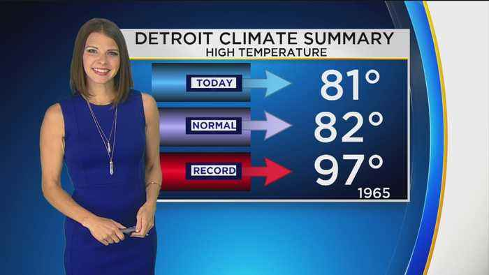 First Forecast Weather August 15, 2019 (Tonight)