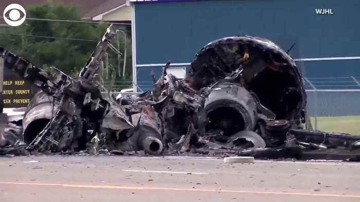 WEB EXTRA: Plane Crash In Elizabethton, Tenn