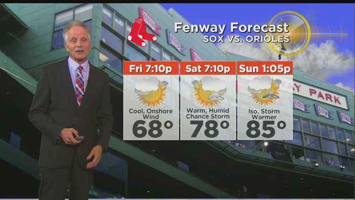 WBZ Evening Forecast For August 15