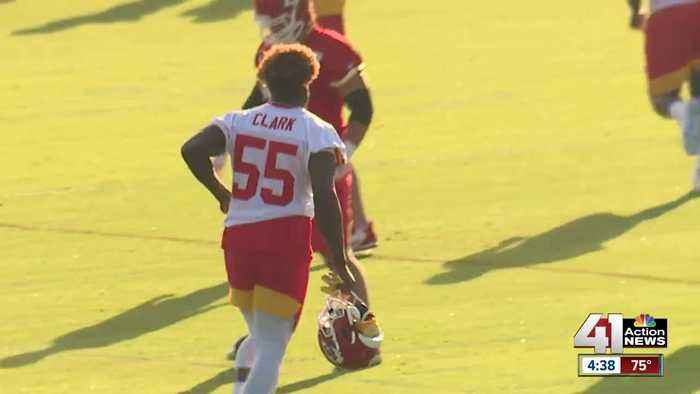 Chiefs happy to breaking camp healthy