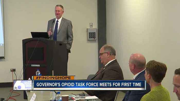 FINDING HOPE: Governor's Opioid Task Force meets for the first time