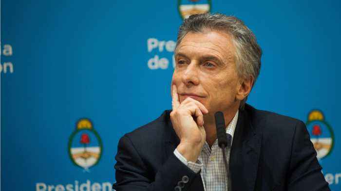 Argentina's President Mauricio Macri Eliminate Sales Tax For Basic Food Products