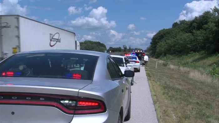 Police believe driver died before I-70 crash in Clay County