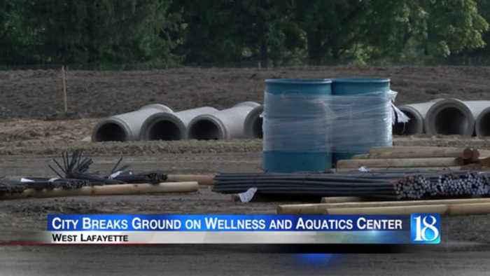 City Breaks Ground on Wellness and Aquatics Center