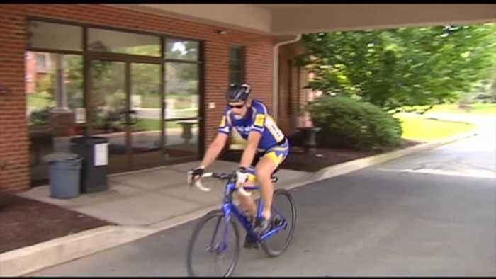 VIDEO Doctor cycles across Pa. to raise awareness of hospice care