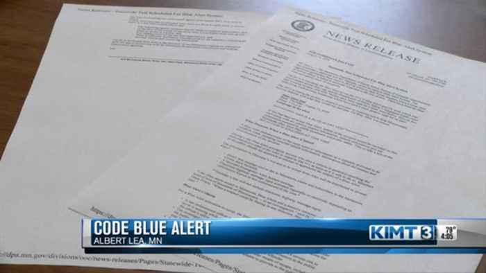 Code Blue Alert