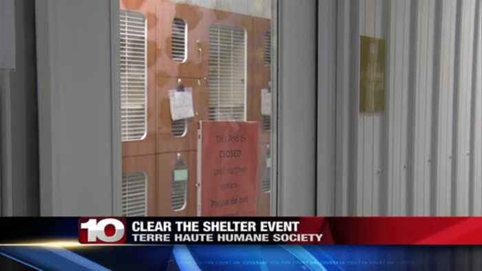 Terre Haute Humane Society set to hold annual Clear the Shelter event
