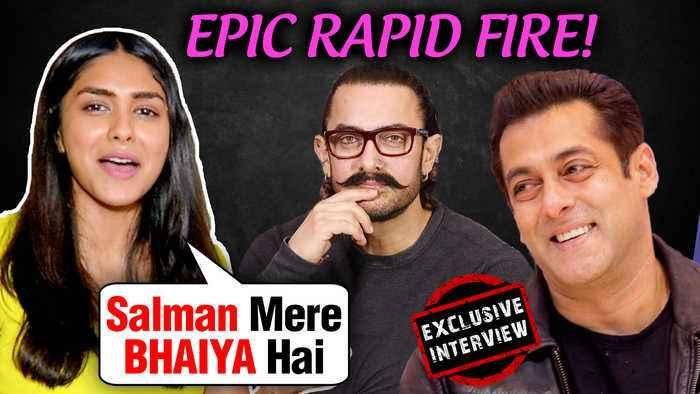 Mrunal Thakur Wants Salman As Her Brother, Kills Aamir Khan | Rapid Fire | Batla House | EXCLUSIVE