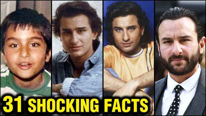 Saif Ali Khan 31 SHOCKING And UNKNOWN Facts | First Marriage, DIVORCE | Kareena - Taimur - Sara