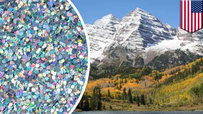 Scientists find microplastics in rain in the Rocky Mountains
