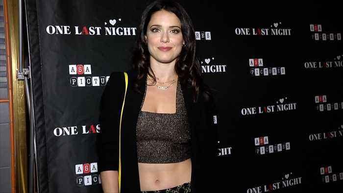 Ali Cobrin 'One Last Night' Premiere Red Carpet