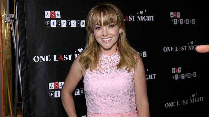 Kelly Stables 'One Last Night' Premiere Red Carpet