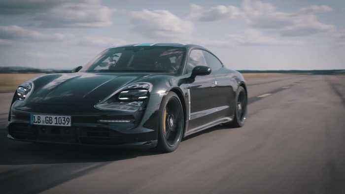 Porsche Taycan - 26 times from zero to 200 kilometers per hour