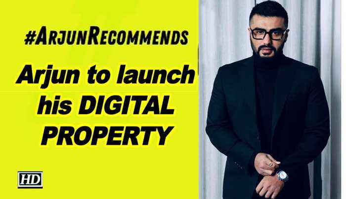 Arjun to launch his DIGITAL PROPERTY called 'Arjun Recommends'