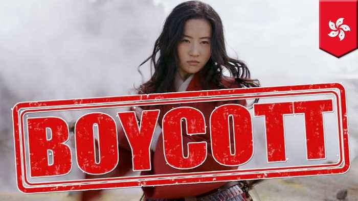 Mulan star's post supporting HK police sparks #BoycottMulan trend