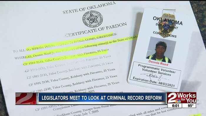 Legislators meet to look at criminal record reform