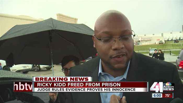 Justice delayed: Ricky Kidd reacts to newfound freedom
