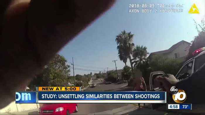 Study: Unsettling similarities in San Diego OIS report