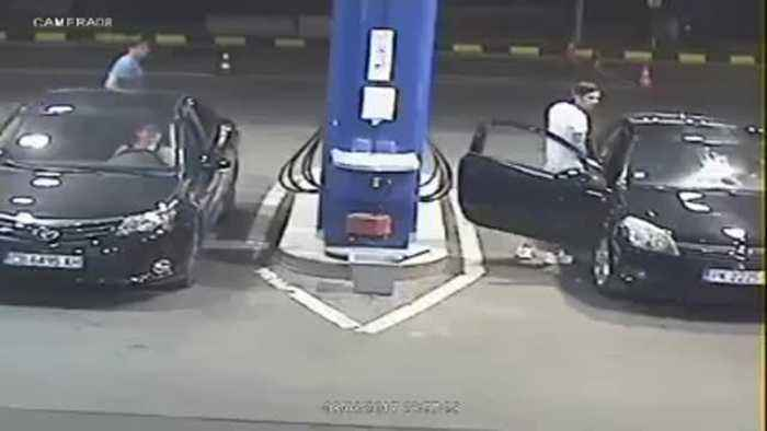 Guy Refuses To Put Cigarette Out At Gas Station, Then Karma Hits Back