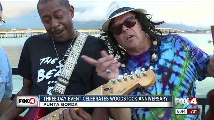 Punta Gorda throws three day Woodstock event