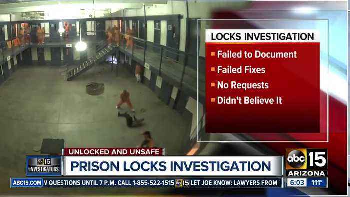 Outside review of Lewis Prison's broken locks released