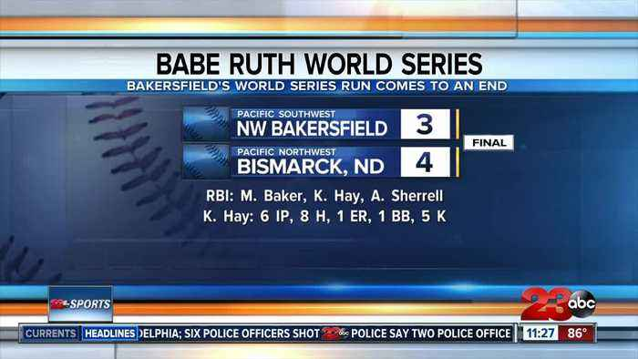Northwest Bakersfield baseball falls in Babe Ruth World Series semifinals