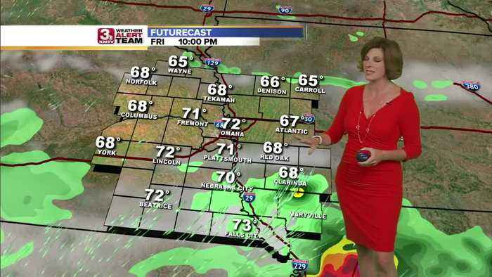 Jennifer's Friday Forecast