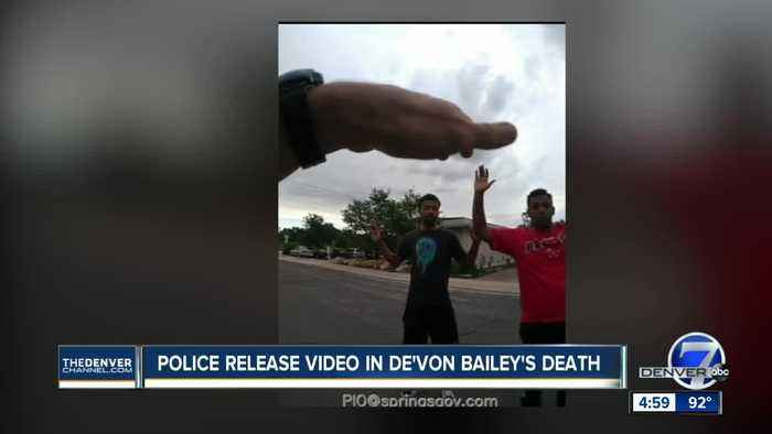 Police release bodycam video of De'Von Bailey shooting