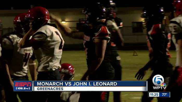 John I. Leonard falls to Monarch 8/15