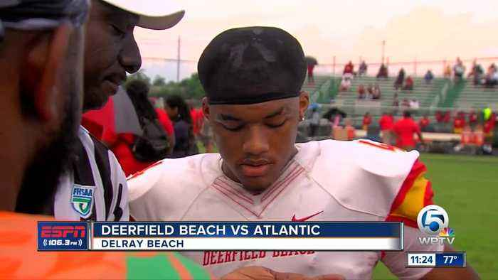 Atlantic defeats Deerfield Beach 8/15