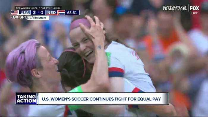U.S. Women's Soccer continues fight for equal pay