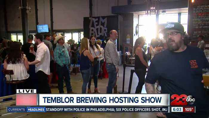 Temblor Brewing Company hosts party during Garth Brooks concert