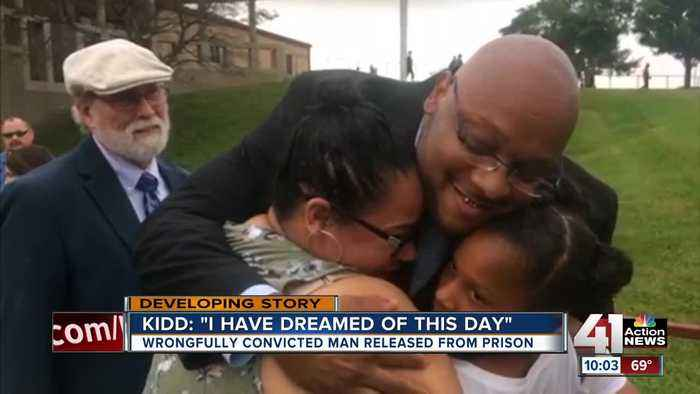 Wrongfully convicted of KC double murder, Ricky Kidd walks free