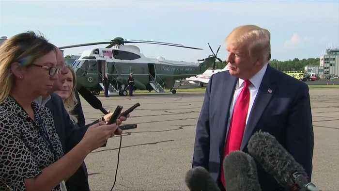 U.S. moving quickly towards U.K. trade deal: Trump