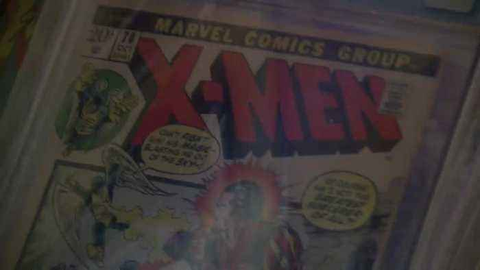 Valley man forced to auction prized comic collection to pay for cancer treatment