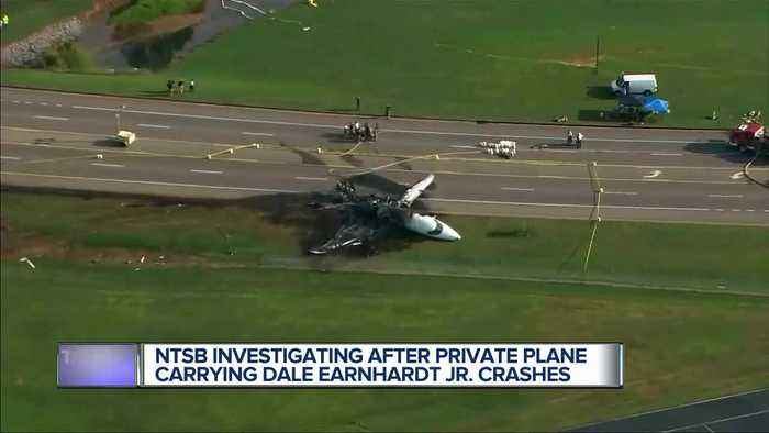 Dale Earnhardt Jr., wife and 1-year-old daughter involved in Tennessee plane crash