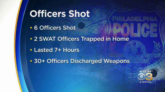 North Philadelphia Police Shooting By The Numbers