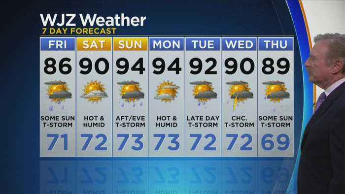 Bob Turk Has A Look At Your Thursday Night Forecast
