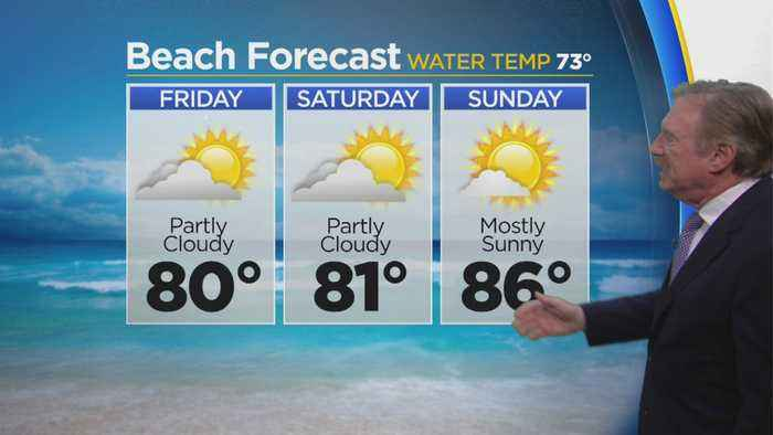 Bob Turk Has A Look At Your Weekend Beach Forecast